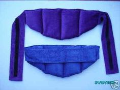 BACK BELT with VELCRO Wheat Bags / Heat Packs - NEW