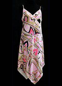 late 1960s Silk Pucci Sundress - courtesy Linda Ames, vintagetextile.com