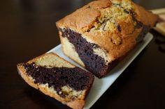 recette sans gluten de cake marbré au chocolat