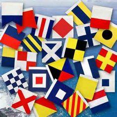 nautical flags - inspiration