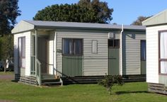 The Family Units at Narooma Easts Holiday Park are ideal for an affordable getaway close to the serene Wagonga Inlet at Narooma on NSW's south coast. October Long Weekend, Family Units, Holiday Park, Caravan, Shed, The Unit, Outdoor Structures, Places, Motorhome