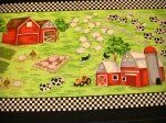 Farm Scene Panel - C558