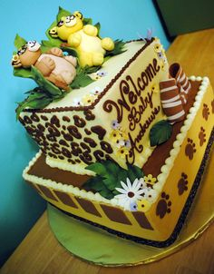 Baby Lion King Baby Shower Cake