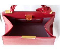 Genuine Leather Shoulder Handbag - odells fashion market Fashion Marketing, Shoulder Handbags, Hermes Kelly, Leather, Hermes Kelly Bag