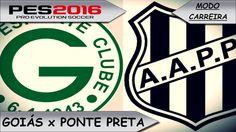 PES 2016 Goiás x Ponte Preta [ Modo carreira ] Ira de um gamer