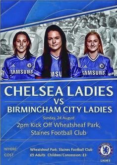 CHELSEA LADIES Poster