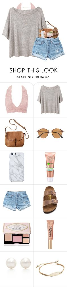"""Going shopping soon!"" by pineappleprincess1012 ❤ liked on Polyvore featuring Charlotte Russe, Acne Studios, Toast, J.Crew, Uncommon, Garnier, Levi's, Birkenstock, Too Faced Cosmetics and Tiffany & Co."