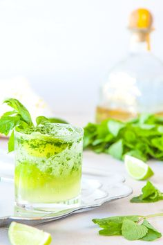 Tequila Mojito - the classic mojito gets a makeover with tequila | DeliciousEveryday.com