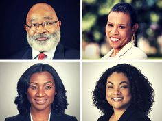 Recently appointed HBCU Presidents: top left, Willie Larkin (Grambling State University), Top right, Mary Schmidt Campbell (Spelman College), Bottom left, Tashni Dubroy (Shaw University), and bottom right Maria Thompson (Coppin State University).  Charlie Nelms shares five things that can and should be done to strengthen HBCU presidential leadership success.