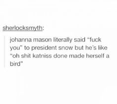 Funny but the THG lover in me can't help but to add that it's because he knows his citizens would never follow Johanna into a revolution. She's too volatile & unstable & has no backbones (ie: Haymitch, Cinna, etc.)
