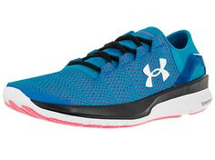 Under Armour Women's Speedform Apollo 2 Dynamite Blue/Hyr/White Running Shoe 6 Women US