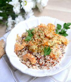 Riz sauvage aux crevettes sauce gingembre-sésame pour retrouver équilibre et saveurs asiatiques !