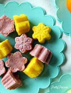 You won't believe how EASY it is to make your own 'Starburst' candy at home, using simple healthy ingredients -- no refined sugar! Strawberry, Orange, Lemon and Raspberry! (But PINK is my favorite!!) You guys!! These homemade starburst are SO GOOD, and SO EASY. Mix together a few simple ingredients