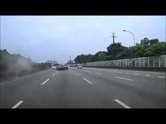 Ferrari causes Nissan GT-R road crash - BBC Top Gear