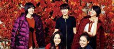 한국 톱 스타들의 가든 파티 화보가 공개됐다.