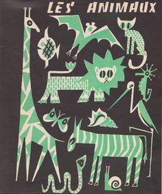 Bernadette Gervais Textes recueillis par J. Charpentreau Dessins de Robert Dalmasso Les Editions Ouvrières (1958)