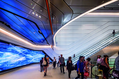These are the winners of the 2018 Australian Interior Design Awards Australian Interior Design, Interior Design Awards, Wynyard Station, Guiyang, Public Space Design, Public Square, Cultural Identity, Facade Architecture, Made Goods