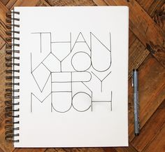 Thank You! on Behance