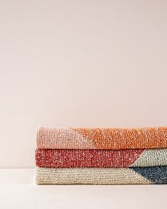 Half + Half Blanket | Purl Soho Crochet Blanket Patterns, Knitting Patterns Free, Purl Soho, Purl Stitch, Knitted Blankets, Yarn Crafts, Knit Crochet, Quilts, Fabric