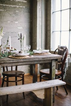 Thanksgiving table inspiration.
