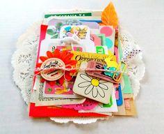 Easter Ephemera Pack / Easter Paper Kit / 40 by vintagescrapshop
