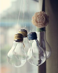 Repurposed deco light bulb from on Etsy. Shop more products from on Etsy on Wanelo.