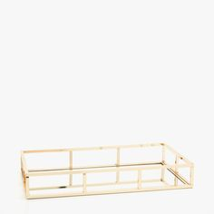 Image 1 of the product Tray with gold handles