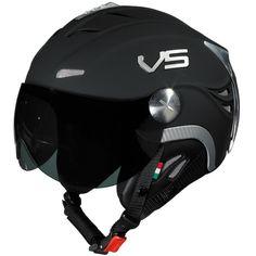 VS Skihelm Beta II Schwarz Matt hier online kaufen und bestellen - Skihelme und Motorradhelme, motorradbedarf