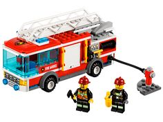 Logan wants to ask Santa for this.  Put out the biggest blazes with the amazing LEGO® City Fire Truck!