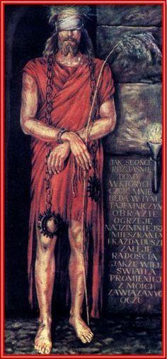 UKRYTE męki TORTURY PANA JEZUSA W CIEMNICY LOCHU WIĘZIENNEGO leonia nastał Catholic, Christ, Santa, Statue, Painting, Scrapbooking, Passion, Angel, Education