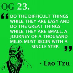 Don't get the order mixed up #quote #laotzu