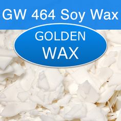 "Golden Brands 464 Soy Wax  Note: Wax is packaged in flake form. 50 lb. Case Size: 16"" x 13"" x 13.5""  10-lb. bag for $14.99 ($1.50/lb.); can also buy in bulk up to $1.04/lb."