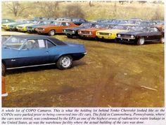 1969 Chevrolet Camaro Copo.