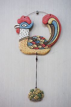 민화벽걸이 입니다.~~^^ 이거 저거 다 하고 싶은걸 호랭이, 물고기, 닭, 봉황으로 줄였습니다.~~^^ Diy And Crafts, Arts And Crafts, Korean Painting, Rooster Decor, Wow Art, Painting Inspiration, Art Lessons, Washer Necklace, Pottery