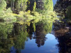 Rush Creek below Silver Lake, near June Lake, California