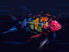 Ознакомьтесь с этим проектом @Behance: «Flösserplatz Fish Programm» https://www.behance.net/gallery/29479947/Floesserplatz-Fish-Programm