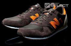 New Balance 400 - Shoes - Brown / Orange - New Balance Mens Shoes