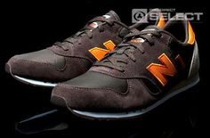 New Balance 400 - Shoes - Brown / Orange - New Balance Mens Shoes