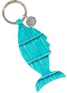 Bottega Veneta Crocodile Keychain