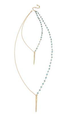 Heather Hawkins Tiny Dagger Necklace