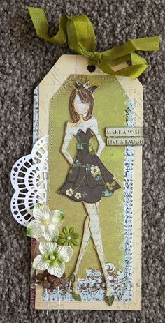 Creative Mayhem: Prima Mixed Media Doll Stamps ...Strapless and Bolero Dolls by Julie Nutting