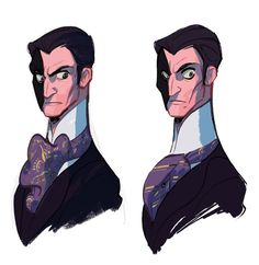 PHANTOM OF THE OPERA #3 PROCESS SKETCHES: PHANTOMI probably have done more sketches for him compared to the other characters (omg and these sketches are so old!). I originally wanted to give him more of a 'serpent' look with lots of curves and Jafar+Al Hirschfeld hand. Soon I noticed it was hard to define his design next to Raoul, who had lots of round lines. So in order to emphasize the'sinister' side of my version of the Phantom, I gave him more straight lines with skinny, clean cut body…