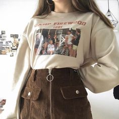 Outfit ideas aesthetic clothes sweater skirt brown fall Source by emmagrosskopf ideas aesthetic skirt Indie Outfits, Retro Outfits, Soft Grunge Outfits, Tumblr Outfits, Cute Casual Outfits, Soft Grunge Clothing, Retro Clothing, Trendy Clothing, Indie Clothes