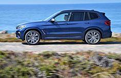 Тест абсолютно нового кроссовера BMW X3 2018 третьего поколения