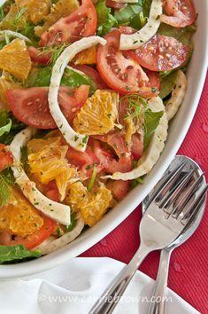 #SANE Orange, Fennel and Tomato Salad  | www.carriebrown.com | www.sanesolution.com