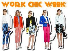 work chic office wear