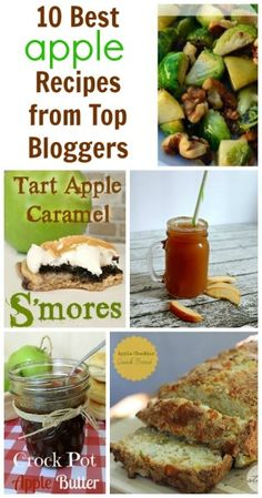 10 Best Apple Recipes from Top Bloggers   jenny at dapperhouse