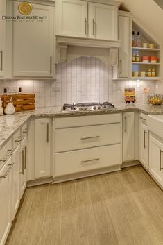 Love the cabinet details that went into designing this custom kitchen! Kitchen Organization, Kitchen Storage, Kitchen Decor, Kitchen Design, New Home Construction, Custom Kitchens, Interior Decorating, Interior Design, Home Trends