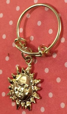 Gold  Plated  Expandable Bangle Ring With Sun NWT  | eBay