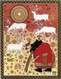 "Illustration of Gennadiy Pavlishin for ""Tales of the river Amur"""